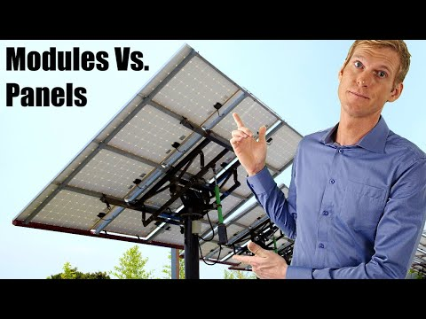 The Differences between Solar PV Cells, Modules and Arrays