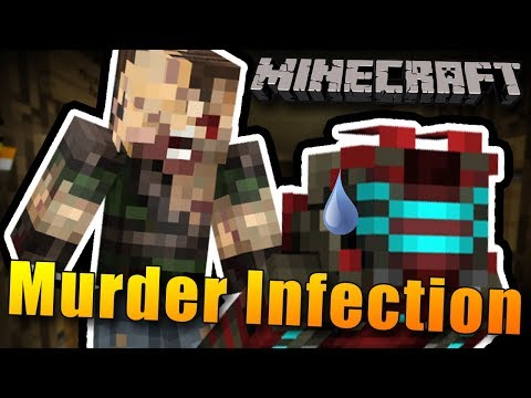 ZOMBIE INFEKCE V MURDER MYSTERY! - Minecraft Murder Mystery Infection w/Bauchyč