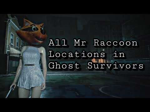 All Mr Raccoon locations in Ghost Survivors DLC in Resident Evil 2 Remake