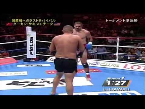 Gökhan Saki vs Rick Cheek - K-...
