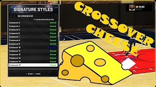 NBA 2K15 - How To Do The Crossover CHEESE Tutorial!!