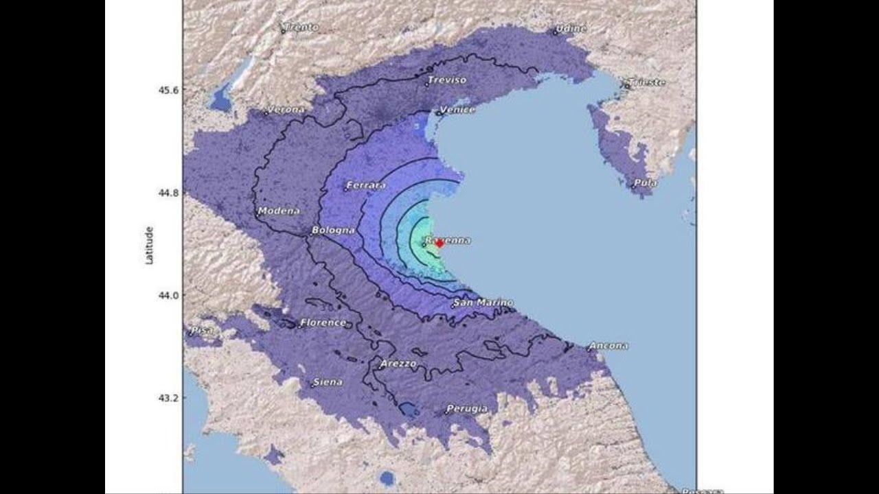 terremoto di oggi in romagna ecco cosa sta succedendo al