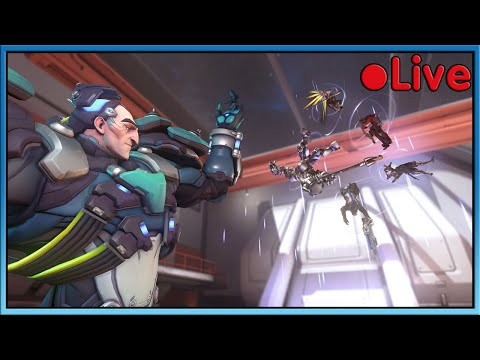 Overwatch - Team Stampy Vs Team Sqaishey - 🔴 Live