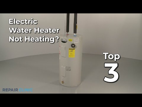 Electric Water Heater Not Heating? Electric Water Heater Troubleshooting