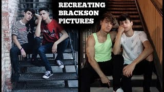 Download Video Recreating Old Pics Ft. Bryce Hall MP3 3GP MP4