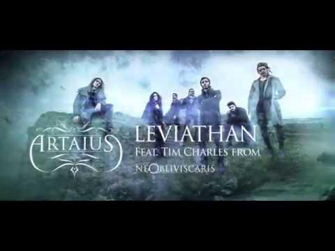ARTAIUS - Leviathan | feat. Tim Charles from NE OBLIVISCARIS (Lyric Video)
