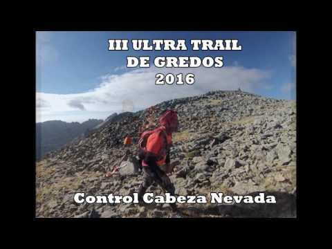 Control Cabeza Nevada Ultra Trail de Gredos 2016