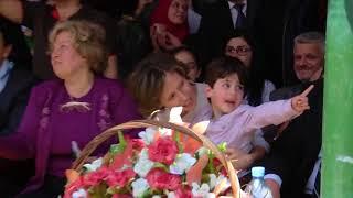 Асма аль-Асад в школе г.Хомс