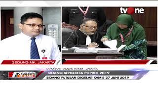 Gambar cover Sidang Putusan Digelar Kamis 27 Juni 2019, Ini Kata Juru Bicara MK...
