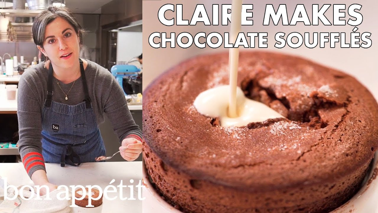 Claire Makes Individual Chocolate Soufflés | From the Test Kitchen | Bon Appétit