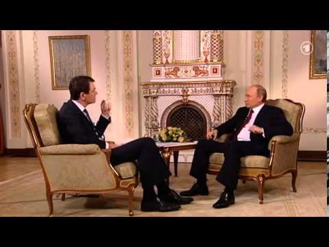 Putin nimmt schlecht vorbereiteten WDR Chefredakteur auseinander 2/3
