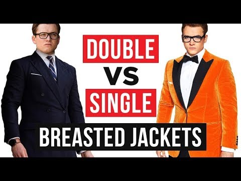 Double Vs Single Breasted Jackets | Which One Is Better?