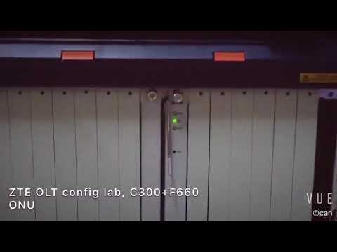ZISA GPON LAB How to config ZTE GPON OLT C300 +F660
