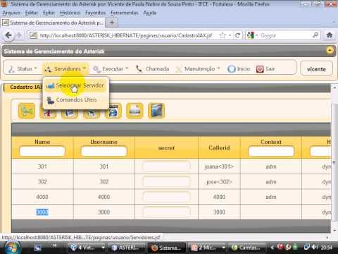 Asterisk - Java - IAX TRUNK parte 2.avi
