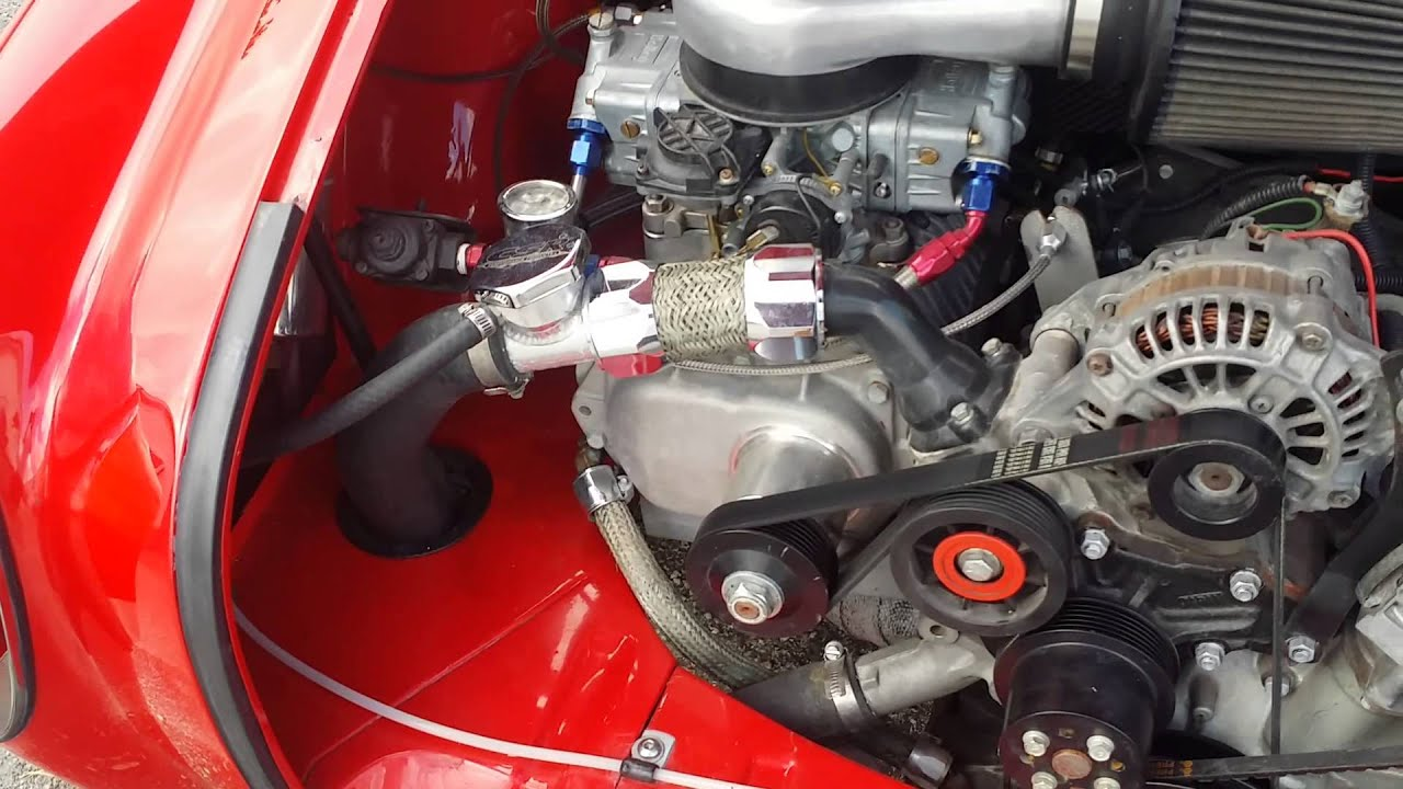 Karmin Ghia Protour Rotary Supercharged For Sale Youtube