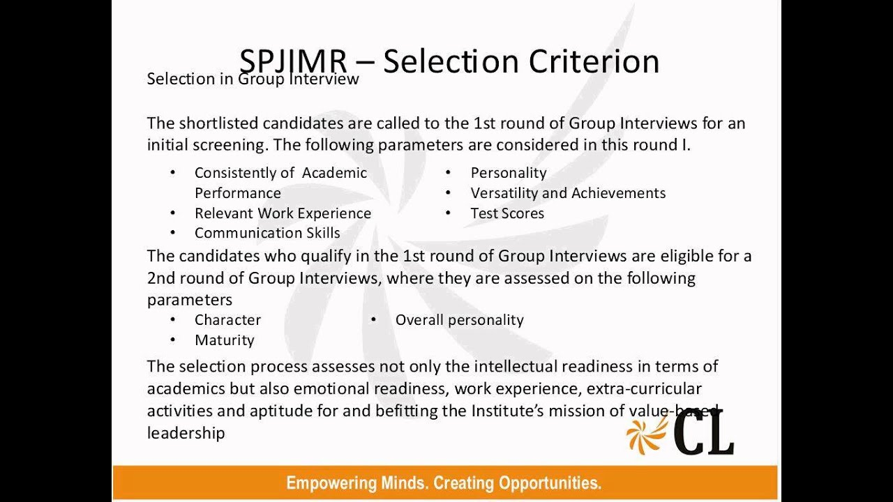 spjimr profile based calls the way ahead spjimr profile based calls the way ahead