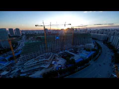 望京工地延时摄影20121012