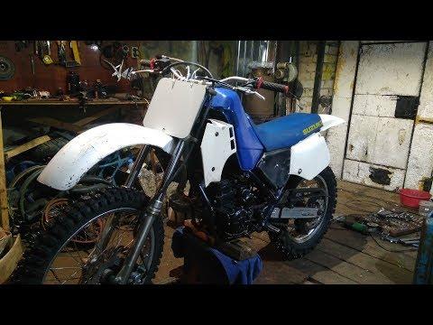японо китайский мотоцикл своими руками SUZUKI-STELS