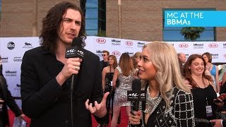 MC at BBMAs: Hozier Admits He's Nervous to Perform