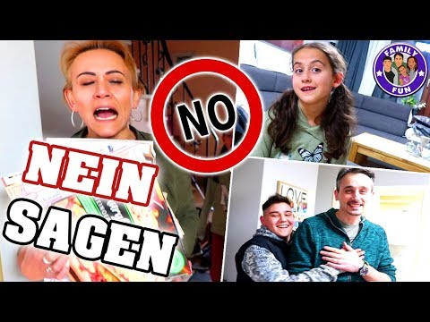 1 TAG lang NEIN SAGEN Challenge - Egal was passiert - Family Fun