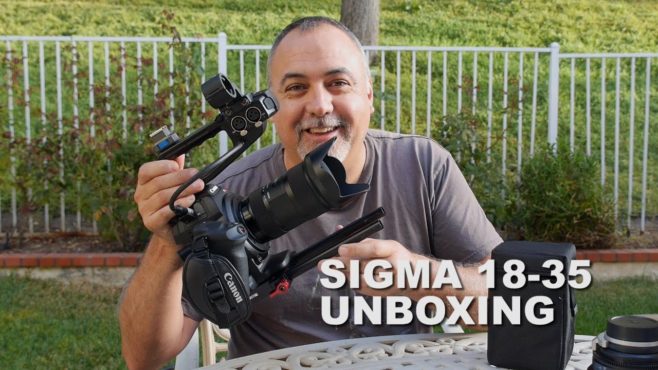 Sigma 18-35 f1.8 Unboxing - YouTube