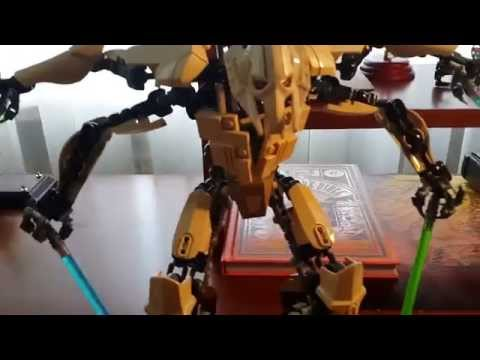 Lego star wars custom general grievous buildable youtube - Croiseur star wars lego ...