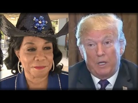 BREAKING: EARLY THIS MORNING TRUMP HIT FREDERICA WILSON WITH HIS SECRET WEAPON… SHE'S PANICKING!!!