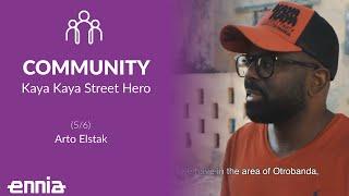 Kaya Kaya Street Hero&#39s of Ser&#39i Otrobanda: Arto Elstak