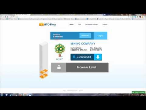 BitCoin Новый кран Btc Flow, 1200 BTC за 5 минут!