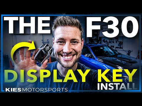 How to install the Display Key Retrofit WITH Remote Start in the F30 BMW