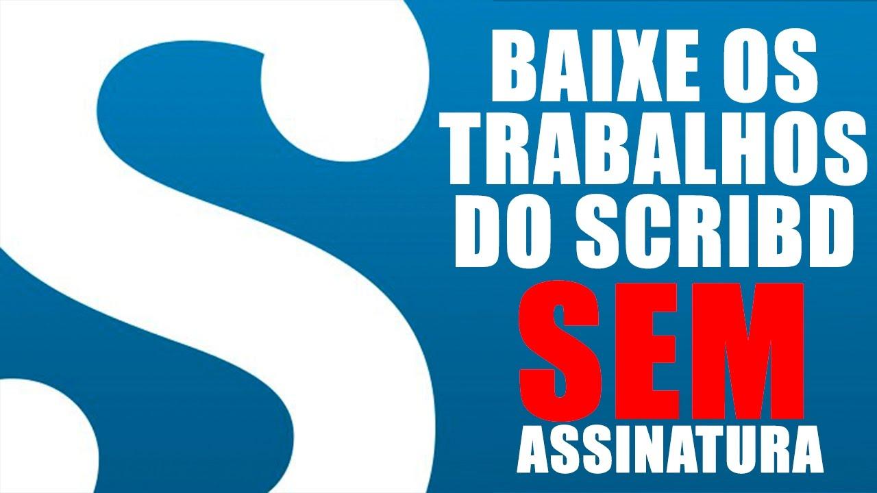 GRATIS DO SCRIBD BAIXAR ARQUIVOS