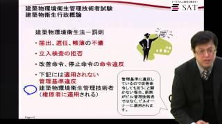 ビル管理士試験 建築物環境衛生法 罰則 1080p