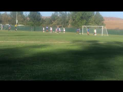 Free Kick Santiago Canyon College