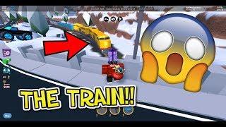 TSG Gaming: THE TRAIN IS HERE!! (Roblox Jailbreak)