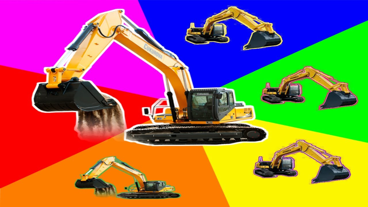 Playing Excavator Toys Mainan Anak Excavator Serunya Bermain Exavator