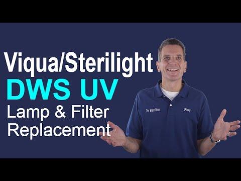 Viqua/Sterilight DWS UV Filter and Bulb Replacement