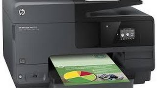01. HP OFFICEJET PRO 8610 All-in-one Printer Scanner Copier Fax