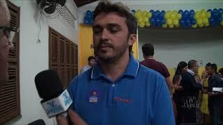 Nelinho Cordeiro fala da importância do apoio do Anderson Victor de Jaguaribe a sua candidatura