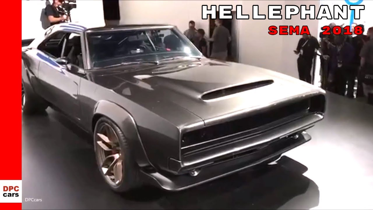 Dodge Super Charger Concept With Hellephant 426 Crate At Sema 2018