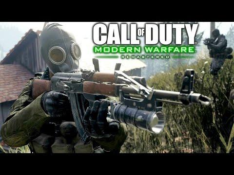 Call of Duty 4 Modern Warfare Remastered: Heat Mission Gameplay Veteran |