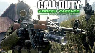 Call of Duty 4 Modern Warfare Remastered: Heat Mission Gameplay Veteran
