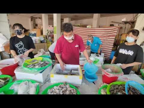 中彰海王子海鮮拍賣彰化和美海鮮叫賣直播