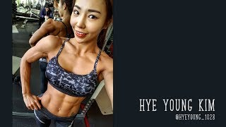 Hye Young Kim - Beautiful Korean fitness girl