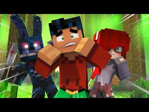 Minecraft Fnaf - Nightmare Bonnie Camping Disaster (minecraft Roleplay)