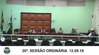 Sessão da Câmara 12.09.18