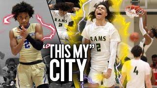 """THIS MY CITY"" Sharife Cooper FACES Deivon Smith & Caleb Murphy in Matchup of ATLANTA POWERHOUSES"