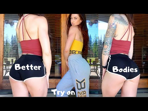 Official Better Bodies L Gym Clothes Try On Haul