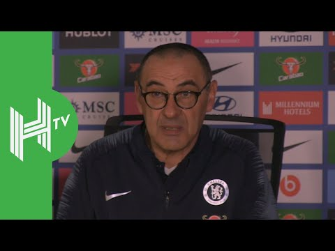 Maurizio Sarri: My mistake in playing Kante, but we deserve a trophy