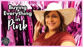 Buying Anything & Everything in ONE COLOR!