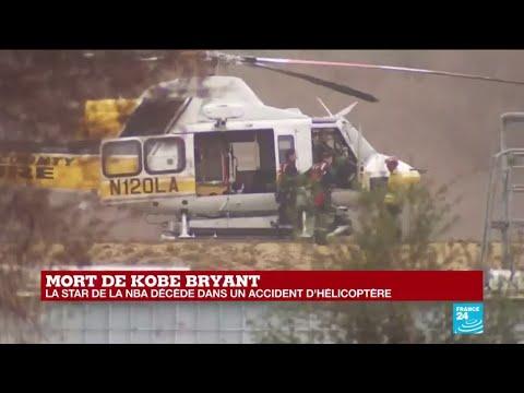 Mort de Kobe Bryant, la star de la NBA, décédé dans un accident d'hélicoptère